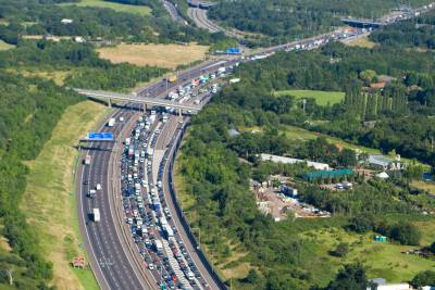 Notable contracts include the M25 widening scheme